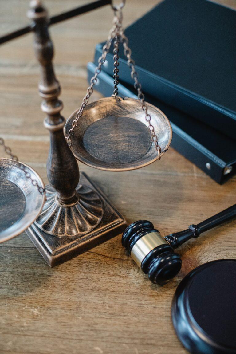 wrongful death attorney's desk in Los Angeles CA